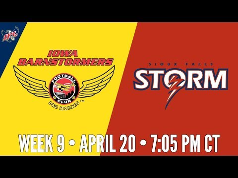 Week 9 | Iowa Barnstormers at Sioux Falls Storm