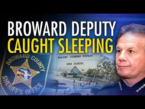 Scott Israel's deputy caught sleeping on the job: Guess where? | John Cardillo