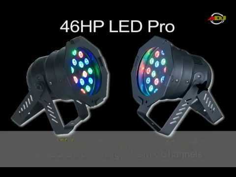 & ADJ LED Stage Lights for Churches - YouTube