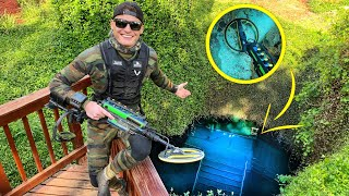 Scuba Diving the Devil's Den Prehistoric Spring for Lost Valuables! (Metal Detecting Underwater)