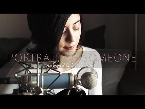 Portrait Of Someone (Original) by Daniela Andrade