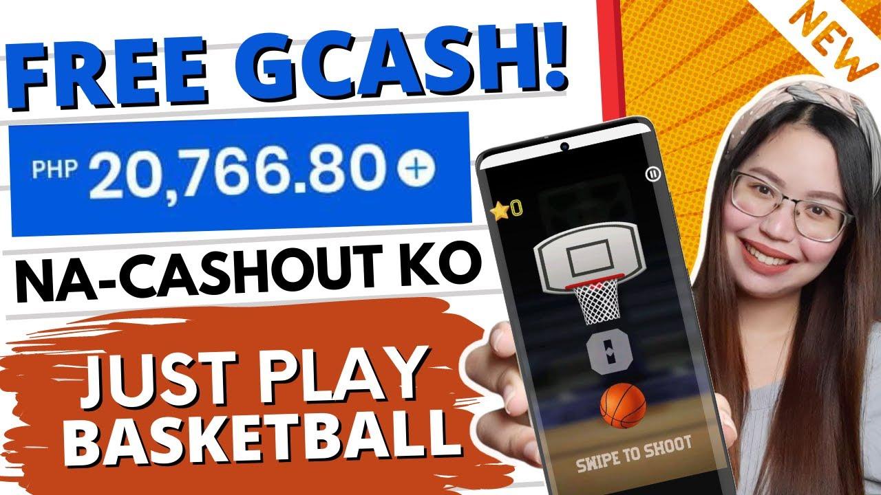 FREE GCASH: P20,000 na CASH-OUT KO LARO lang ng BASKETBALL sa PHONE | w/ OWN PROOF