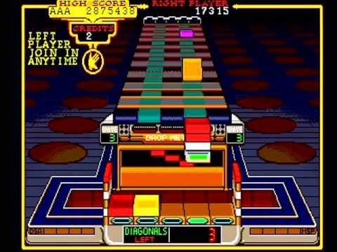 Klax: Atari Retro Arcade Puzzle Game – NOT MAME