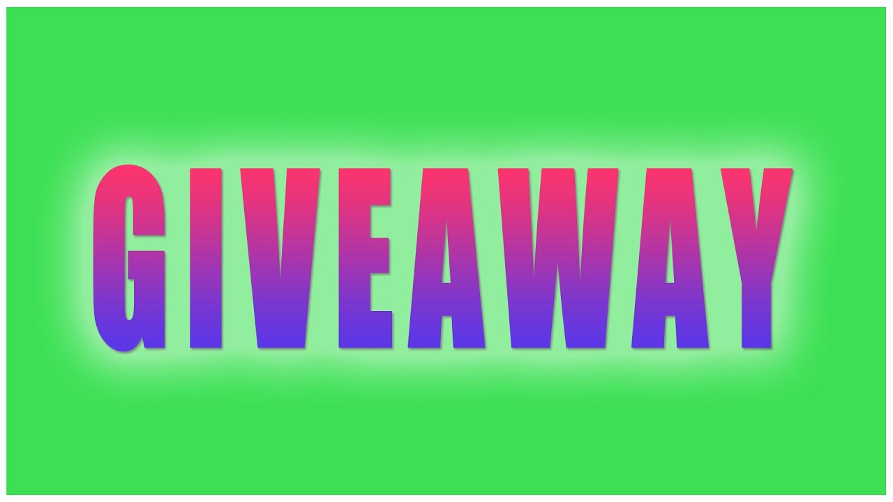 what is youtuber giveaway