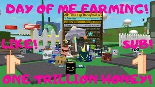 1 TRILLION HONEY - BEE SWARM SIMUALTOR (ROBLOX)