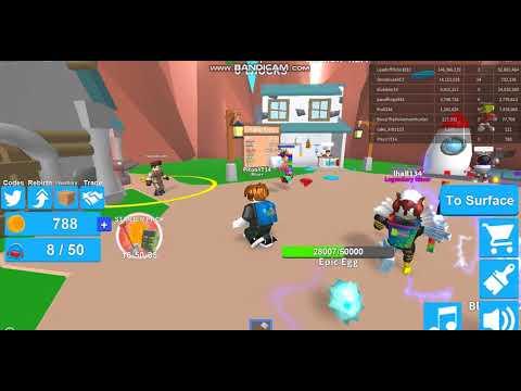 Robloxta Mining Simulator Oynadım