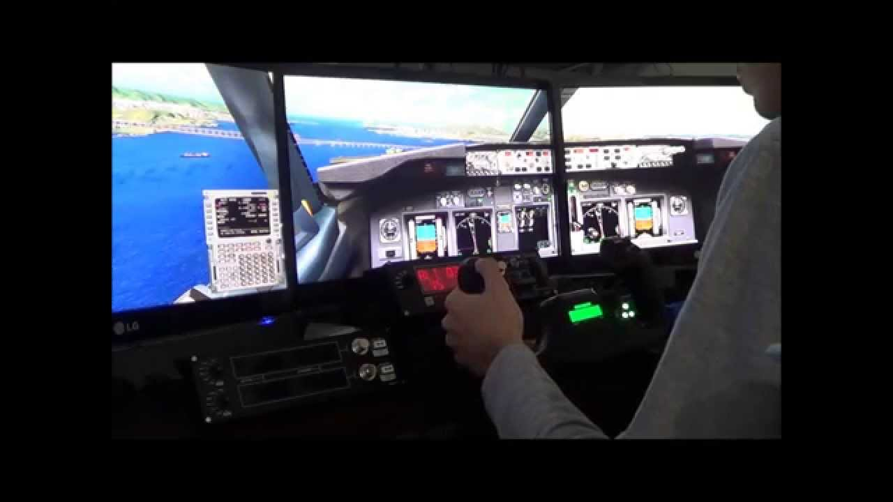 FSX | Saitek Yoke + Saitek Rudder Pedals | Ifly 738 Landing at Santos  Dumont Airport - RJ
