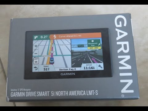 updating the garmin drivesmart gps navigation maps youtube. Black Bedroom Furniture Sets. Home Design Ideas
