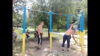 Street Workout Алчевск 2013