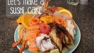 Sushi Cake Creation