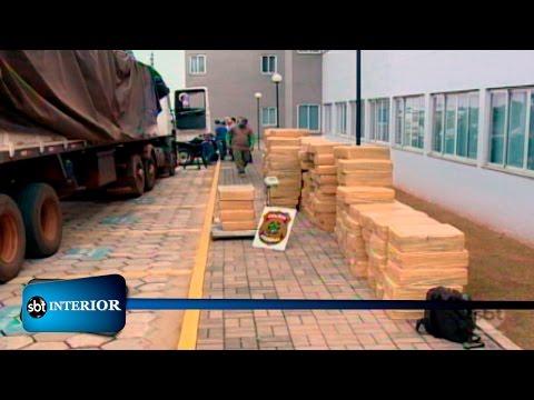 PF apreende mais de 5 toneladas de maconha na região de Prudente