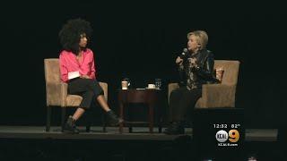 Hillary Clinton Headlines LA Women's Summit