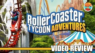 Review: RollerCoaster Tycoon Adventures (Switch) - Defunct Games
