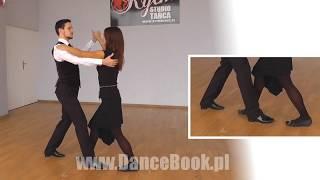 Foxtrot (użytkowy) - Krok Podstawowy - Więcej na DanceBook.pl