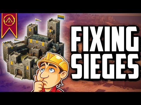 Fixing Sieges - Total War