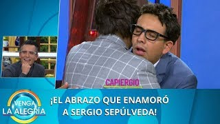 ¡El abrazo que enamoró a Sergio! | Programa del 24 de enero de 2020 PARTE 2 | Venga La Alegría