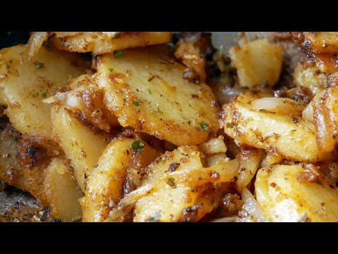 Download We're Having Skillet Potatoes and Onions for Breakfast | How to make Skillet Potatoes