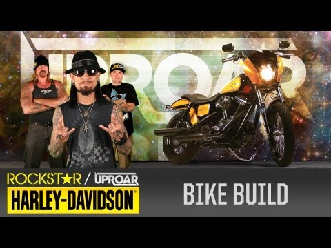 Harley Davidson Rockstar UpRoar Bike Give Away - Part One