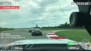 Randy Pobst driving my car at Pitt Race! - Full Session - 2016 Camaro SS