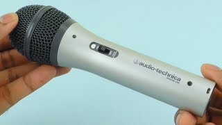 Audio-Technica ATR2100-USB Cardioid Dynamic USB/XLR Microphone Review and Sound Test