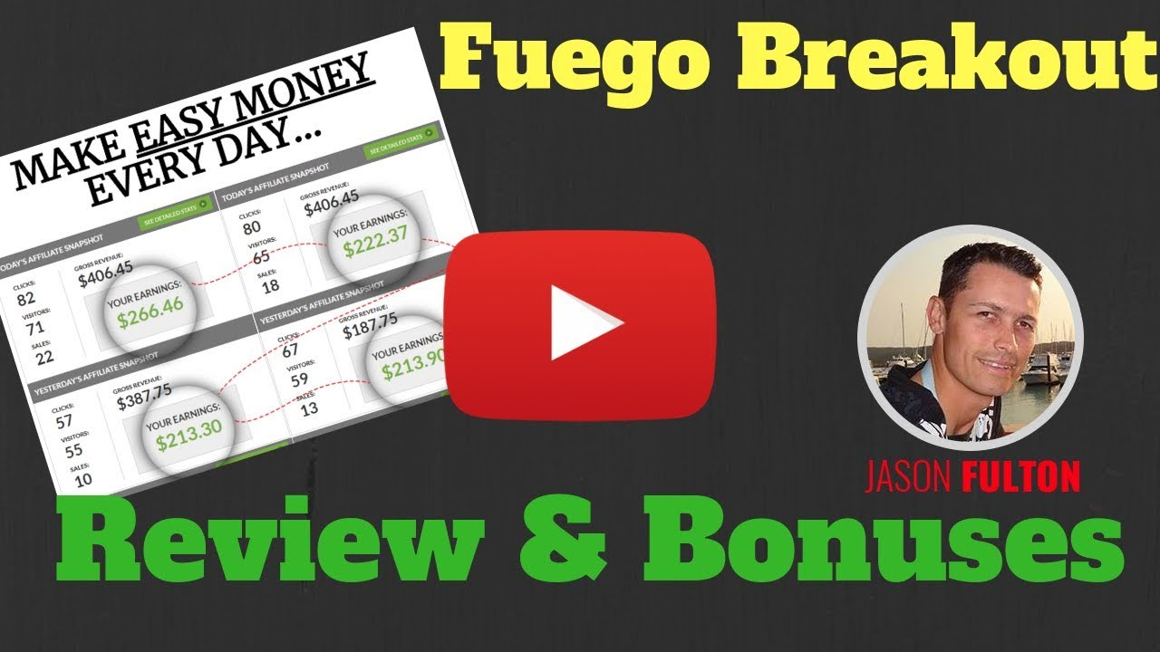 Fuego Breakout Plus My Bonus Package Review