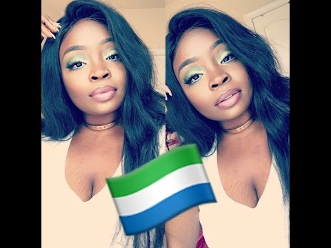 SIERRA LEONE INDEPENDANCE DAY INSPIRED MAKEUP