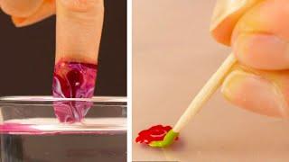 4 простых трюка для домашнего маникюра красивые ногти без труда и затрат