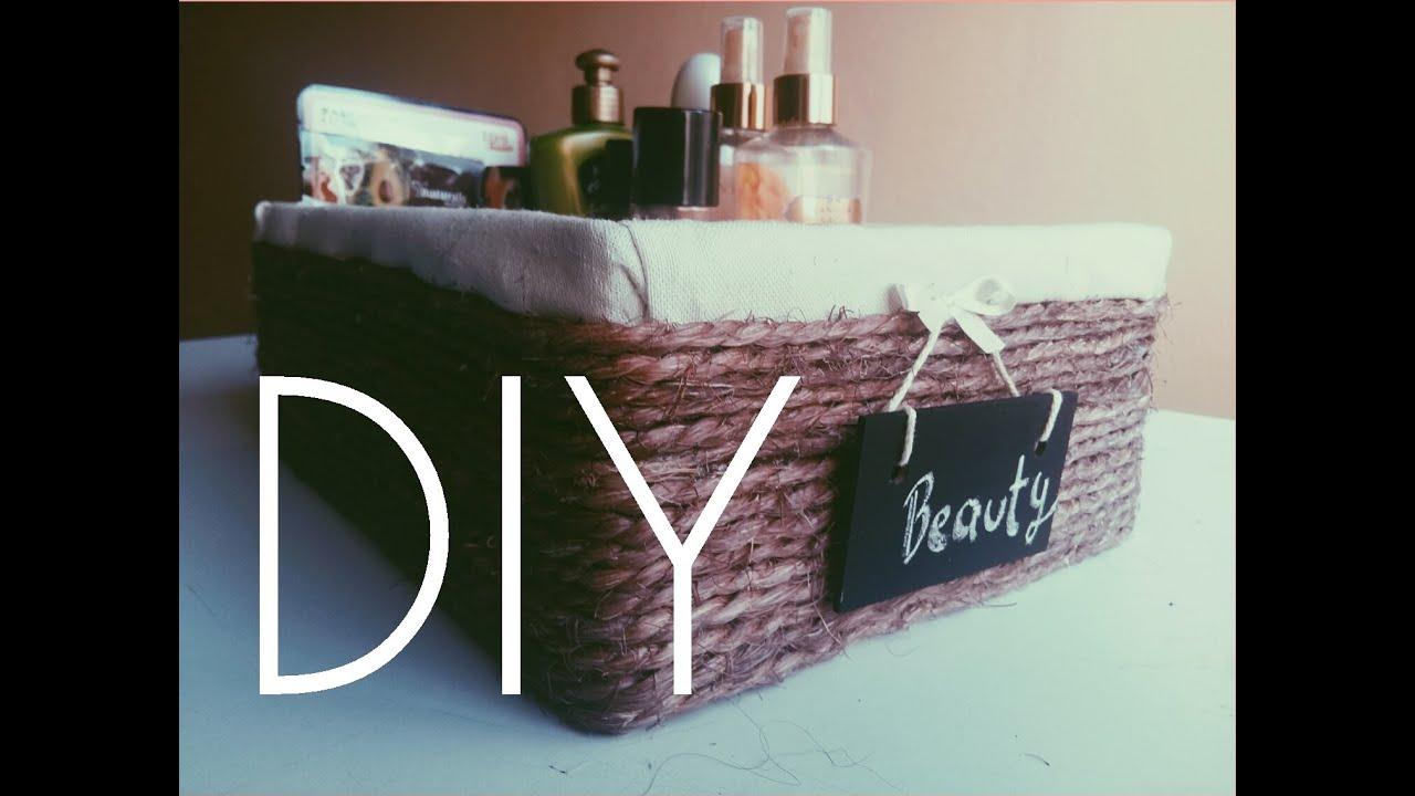 Diy cesta canasta con caja de zapatos youtube - Cajas grandes de carton decoradas ...