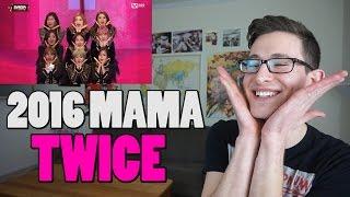 [2016 MAMA] TWICE - Cheer up + TT Reaction