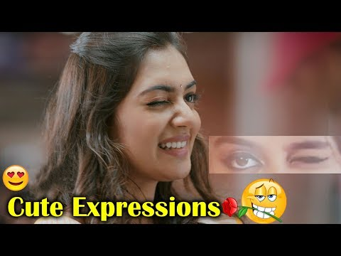 Dedicated to Expression Queen Nazriya Nazim | Cute Expressions | Volga Videos
