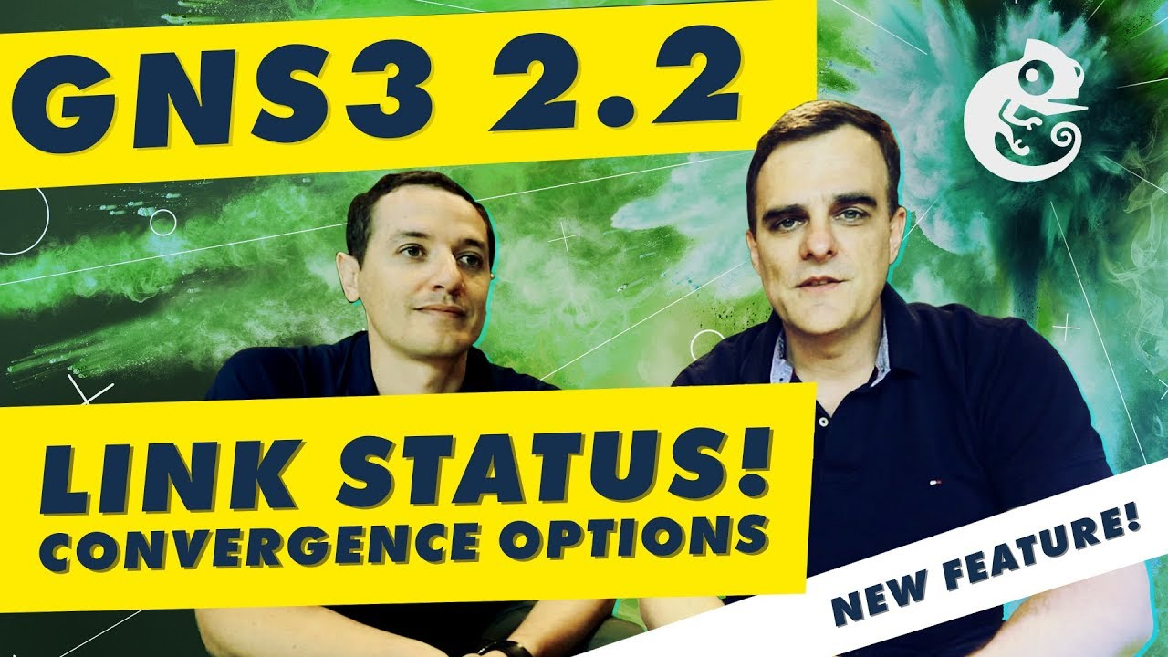 GNS3 2 2 New Feature: Link Status Detection