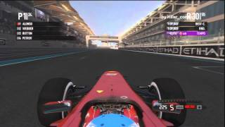 F1 2011 Abu Dhabi Day to Night Preview PS3