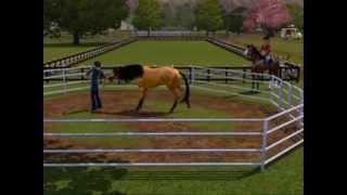 """heartland sims 3 épisode1 """"Le cheval sauvage """""""