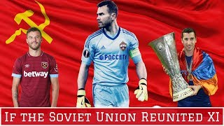 Reunified Soviet National Team Starting XI