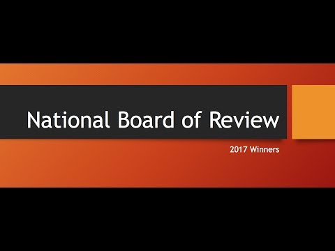 National Board of Review Winners 2017
