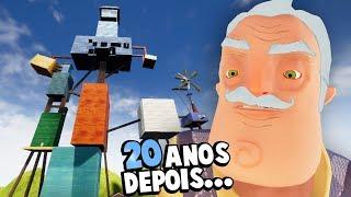 HELLO NEIGHBOR 20 ANOS DEPOIS!!! O VELHO VIZINHO! E A CASA CRESCEU! | Hello Neighbor