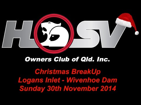 Christmas Break Up - Logans Inlet Wivenhoe Dam - Sunday 30th November 2014