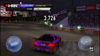 [PSP] Juiced 2 Hot Import Nights HIN - 360 Degree Drifting