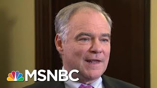 Senator Tim Kaine Slams GOP For 'Enabling' Donald Trump Shutdown | The Beat With Ari Melber | MSNBC