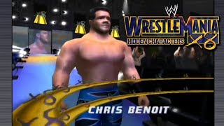 WWE WrestleMania X8 - Hidden Characters