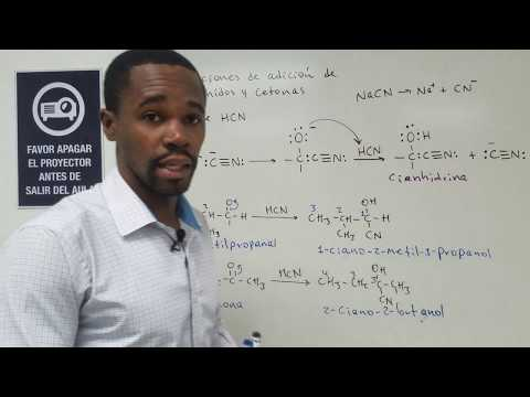 Mecanismo de Reacción de la Adición de Ácido Cianhídrico (HCN) a Aldehídos y Cetonas
