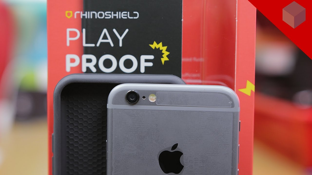 sports shoes b15fe a98c3 RhinoShield Playproof Case For iPhone 6S Unboxing