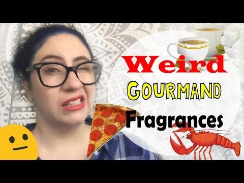 Testing WEIRD Gourmand Fragrances :: PIzza, Lobster, Earl Grey Tea  | April Fools Day 2017