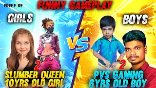Slumber Queen,10yrs Old Girl With World Best PVS, 6yrs Old Boy |Girls Vs Boys Challenge Tricks Tamil
