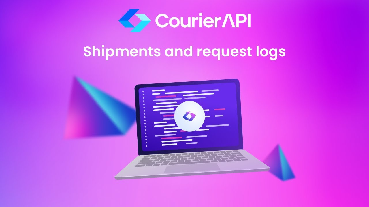 Courier API Shipments and Request Logs