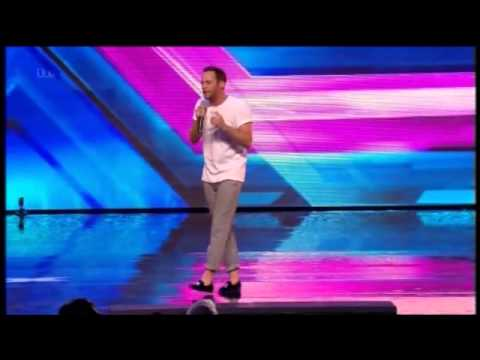 THE X FACTOR 2014 STAGE AUDITIONS - JAY JAMES