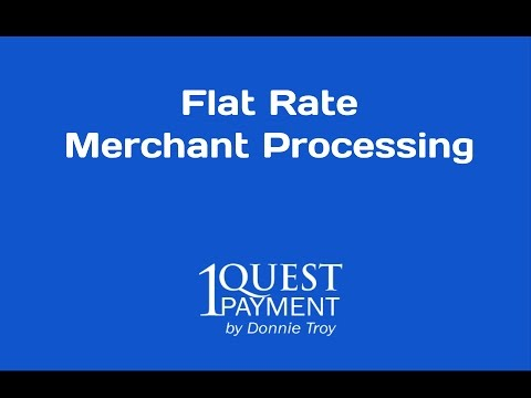 Flat Rate Merchant Processing - Credit Card Processing In Orlando, FL