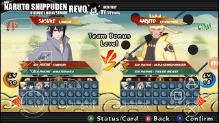 Mod Pack Texture Naruto Storm Revolution (ppsspp)