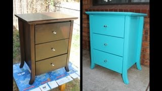 *Home DIY* How To Paint Old Furniture