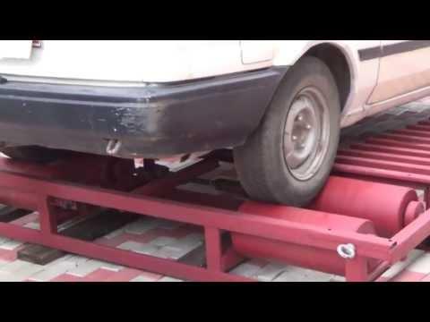 Замер мощности двигателя на тойота